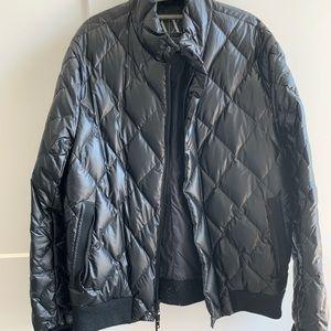 Armani exchange men's quilted jacket